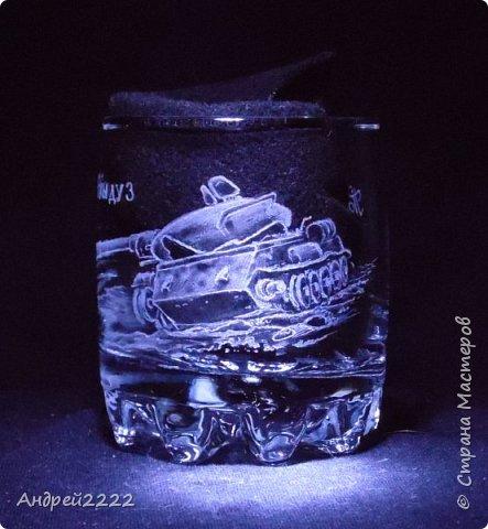 В память о службе, для воина интернационалиста, были сделаны эти стаканы. фото 12