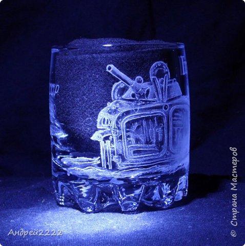 В память о службе, для воина интернационалиста, были сделаны эти стаканы. фото 14