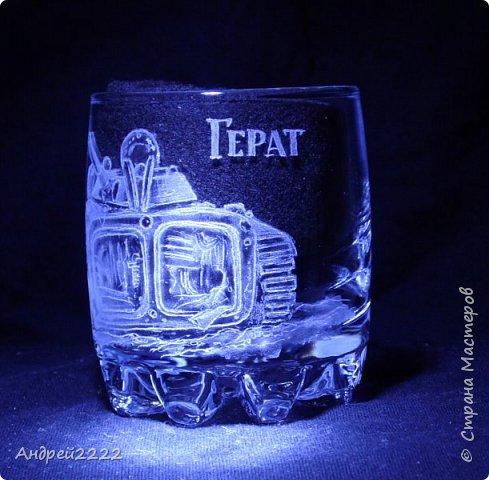 В память о службе, для воина интернационалиста, были сделаны эти стаканы. фото 15