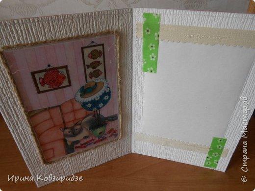 """Последние открытки из серии """"Кошки"""" по рисункам Натальи Шумихиной (Ильиновой в СМ). Я постаралась, чтобы все 16 рисунков имели отдельную открытку, а внутри я дублировала вторые экземпляры рисунков произвольно.Поэтому вы увидите какие-то рисунки дважды. фото 6"""
