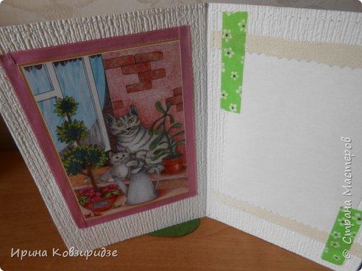 """Последние открытки из серии """"Кошки"""" по рисункам Натальи Шумихиной (Ильиновой в СМ). Я постаралась, чтобы все 16 рисунков имели отдельную открытку, а внутри я дублировала вторые экземпляры рисунков произвольно.Поэтому вы увидите какие-то рисунки дважды. фото 9"""