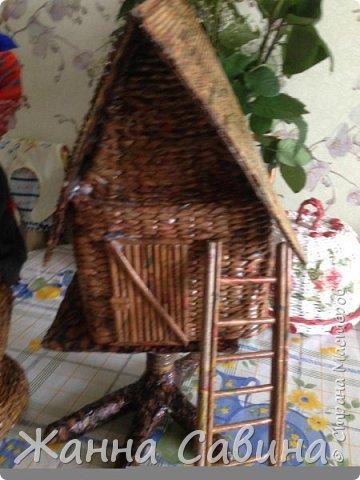 Детские поделки из бумажной лозы фото 3