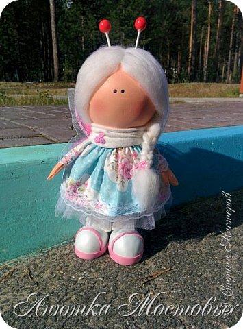 Вдохновилась и на новую куколку))) вот такая фея бабочек получилась) фото 1