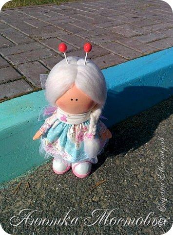 Вдохновилась и на новую куколку))) вот такая фея бабочек получилась) фото 3