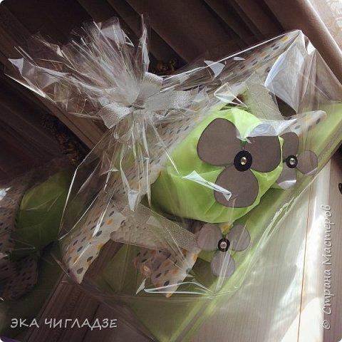 Самолётик из памперсов✈️ готов к полету !  Содержание :  -34 подгузника -2 пеленки -2 упаковки детских ватных палочек фото 1
