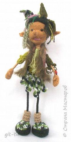 Не знаю, почему, но полюбились мне  лесные человечки.  фото 3