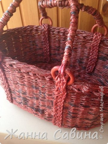 Плетеные корзины и корзиночки фото 7