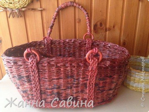 Плетеные корзины и корзиночки фото 4