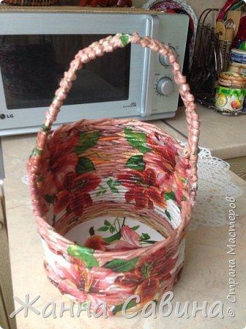Плетеные корзины и корзиночки фото 14