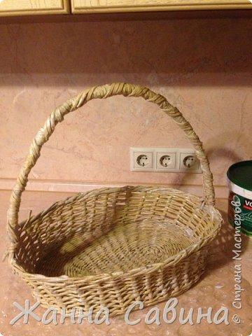 Плетеные корзины и корзиночки фото 8