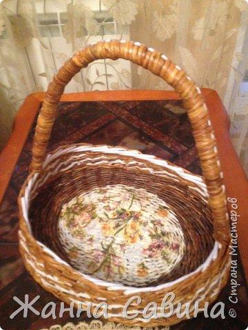 Плетеные корзины и корзиночки фото 10