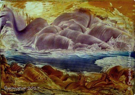 """""""Луна, дерево, река.."""" А4 фото 4"""