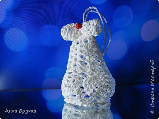 Елочная игрушка Колокольчик. фото 1
