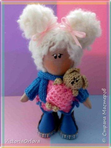 Интерьерная куколка Малышка