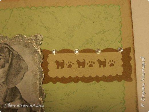 Увидела у Любаши её собачек   http://stranamasterov.ru/node/1110853 .....решила  тоже попробовать, правда такого материала как у Любаши у меня нет, но зато есть отрезочки от сендвич-панелей для откосов пластиковых окон....толщина 1 см...... .вот попробовала..........  фото 6