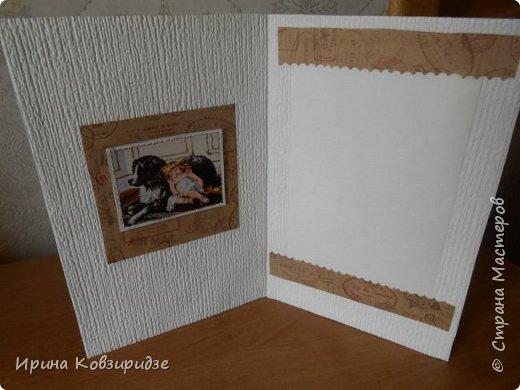 """Три открытки """"Собаки"""". Но котам так понравилось у меня жить, что они тоже затесались в эту компанию. фото 6"""