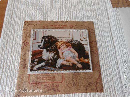 """Три открытки """"Собаки"""". Но котам так понравилось у меня жить, что они тоже затесались в эту компанию. фото 7"""