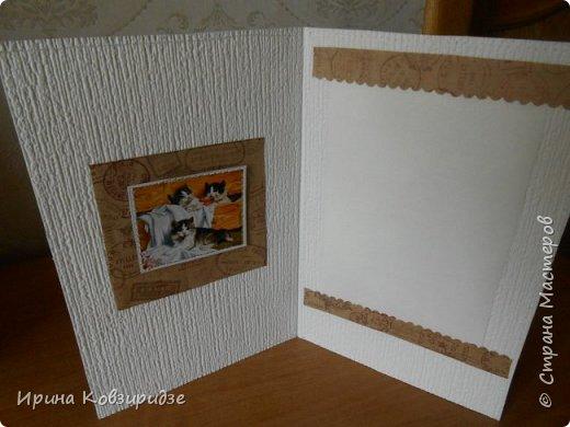 """Три открытки """"Собаки"""". Но котам так понравилось у меня жить, что они тоже затесались в эту компанию. фото 15"""