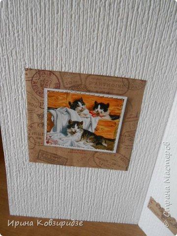 """Три открытки """"Собаки"""". Но котам так понравилось у меня жить, что они тоже затесались в эту компанию. фото 16"""