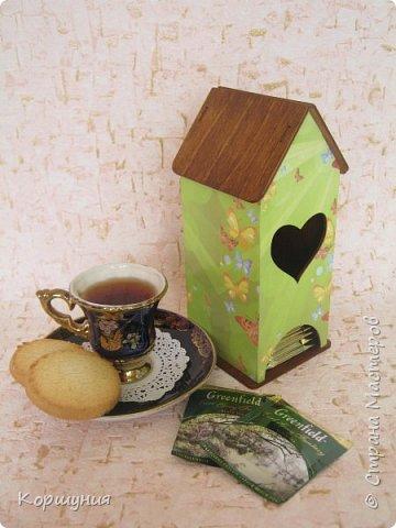 Всем привет.Чайный домик,декупаж. фото 6