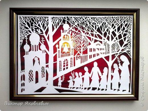 Сегодня закончил резать небольшую миниатюру по мотивам московской художницы Светланы Яворской.