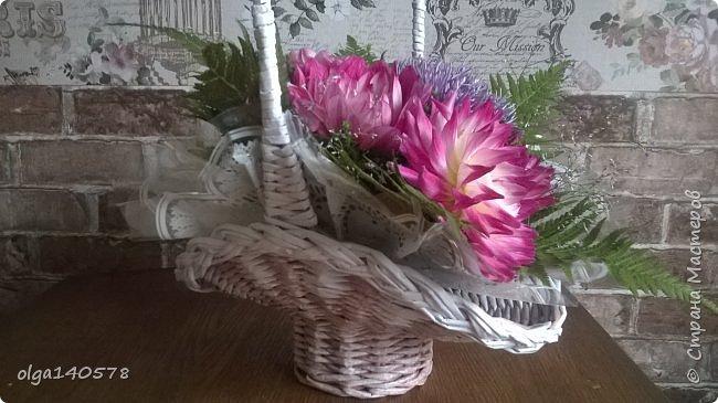 Корзинка для цветов фото 1