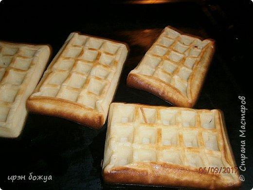 Вафли приготовлены с помощью силиконовой формы приобретенной на Алиэкспресс. фото 5