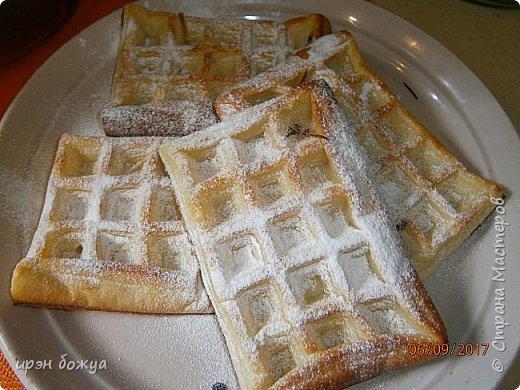 Вафли приготовлены с помощью силиконовой формы приобретенной на Алиэкспресс. фото 2