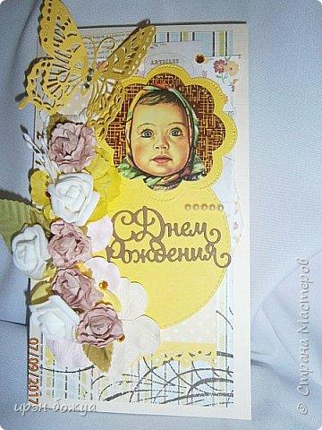 """В этой открытки я использовала изображение с шоколада """"Аленка"""". фото 2"""