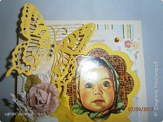 """В этой открытки я использовала изображение с шоколада """"Аленка"""". фото 3"""