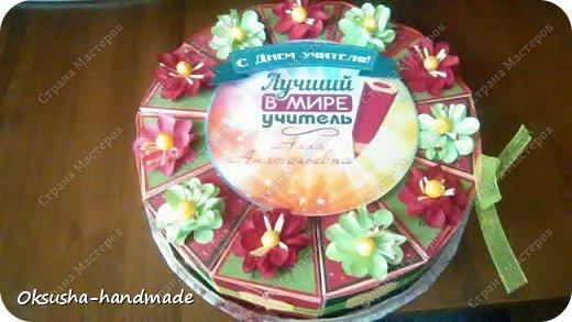 Тортик с с пожеланиями на День Учителя фото 15