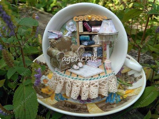 Миниатюра в чайной паре фото 1