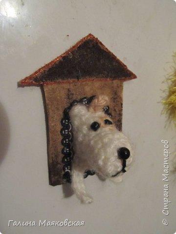 Привет всем!  Отпуск мой кончился, и снова подготовка к Новому году - году Желтой собаки.  Все это было  сделано  во время отдыха в Рыбачьем. фото 6