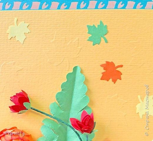 Эту открытку я делала коллеге на день рождения. фото 6