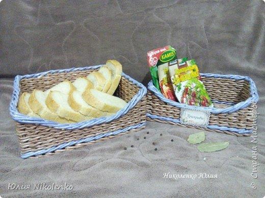 Плетеная корзинка для специй и пряных трав очень удобная и нужная вещица на кухне. Прочная, легкая, удобная и довольно вместительная корзинка для кухни поможет держать в порядке пакетики со специями и пряными травами. фото 11