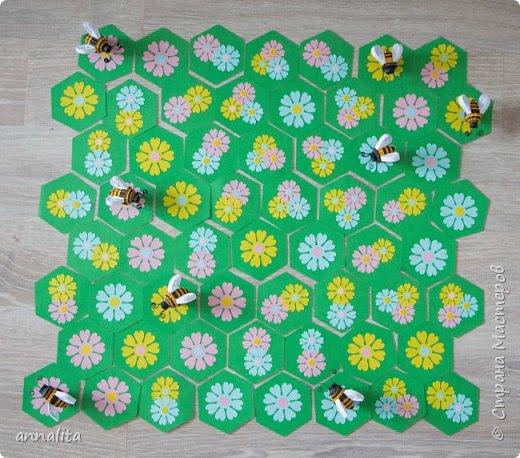 """Здравствуйте.Снова делюсь с вами  своей публикацией в детском журнале """"Рюкзачок"""". На этот раз была подготовлена настольная игра, которую мы назвали """"Пчелиные хлопоты"""" фото 2"""