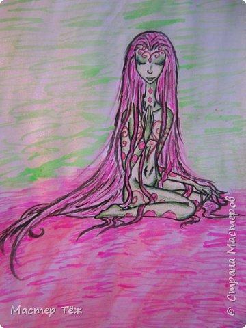 Сегодня я расскажу вам об этой очаровательной девочке, текстильной кукле http://stranamasterov.ru/node/1110906 Феи, они знаете ли такие — им платья подавай, мягкие подушки, и вкусную еду! Мне ещё повезло, что Розовый Ирис оказалась не самой капризной — тихонько ждала, когда я всё закончу. Но думаю дело тут в том, что она боооольшой любитель поспать. Ну, сами поглядите: фото 33