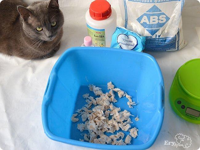 Друзья! Представляю вашему вниманию рецепт самозатвердевающей глины или паперклея. Кому эта тема близка, читаем МК ;) фото 6