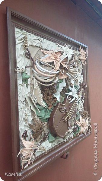 Картина из кожи по МК А.Коробейникова ФАНТАЗИЯ фото 2