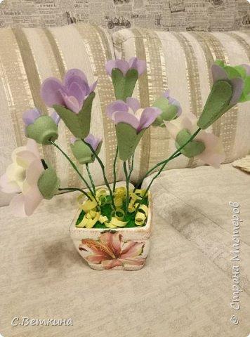 Нежный букет цветов  фото 7