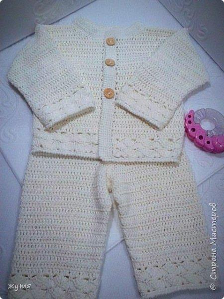 Крестильный комплект, комплект на малыша. фото 1