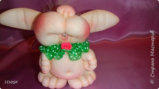 """Куклы выполнены в технике """"скульптурный текстиль"""". Материал: капрон ,синтепон. Высота:15 см.  фото 6"""