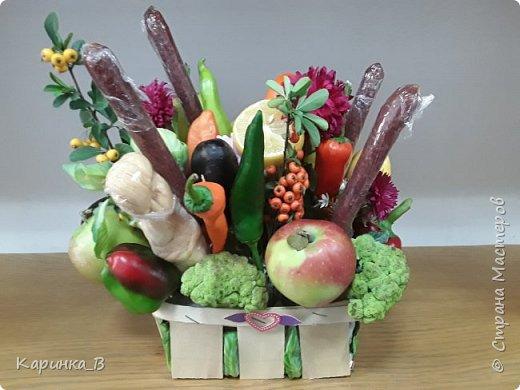 Овощной букет фото 2