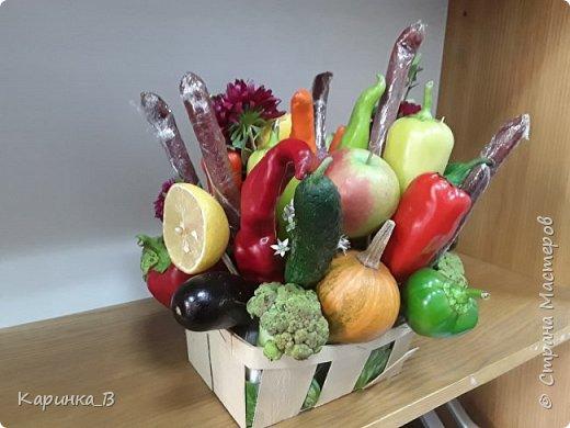 Овощной букет фото 1