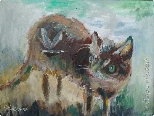 Люблю кошек! И также люблю их рисовать! фото 2