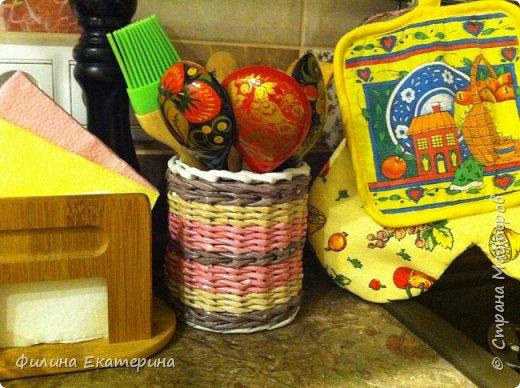 Здравствуйте все! Сплела для своей кухни нужные вещи, порадовала себя любимую.  фото 8