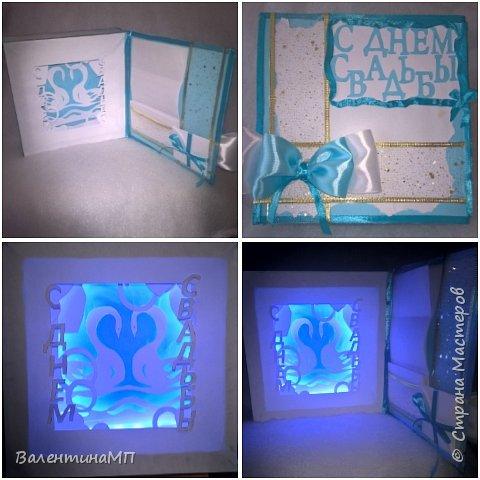 Вот такую объёмную открытку-туннель сделала для сестры на подарок!!!