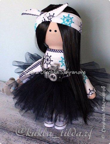 интерьерная кукла, снежка, тильда фото 4