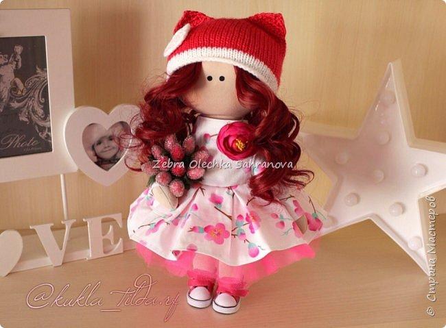 интерьерная кукла, снежка, тильда фото 2