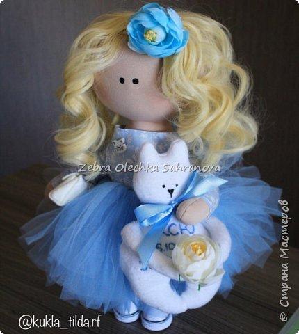 интерьерная кукла, снежка, тильда фото 1